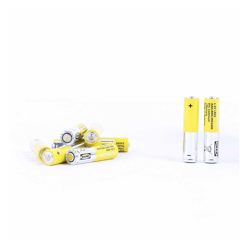 بطارية قلوية، LR03 AAA، 1.5 فولت ALKALISK متجر 15 وأقل