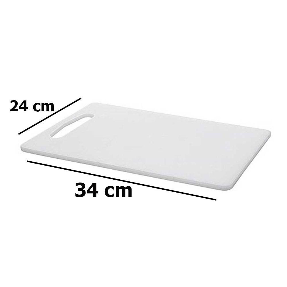 Chopping board white 34 x 24 cm متجر 15 وأقل