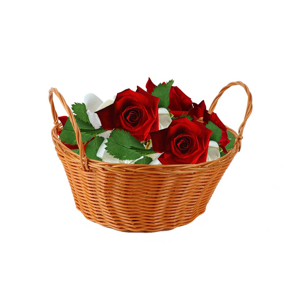 Multi-use basket with handle Beige 15 متجر 15 وأقل