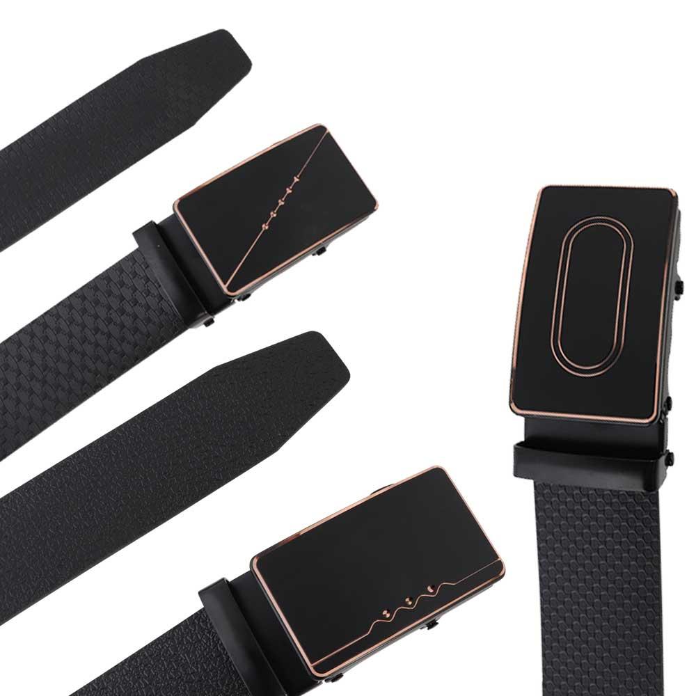 حزام جلد رجالي أسود موديل 2 متجر 15 وأقل