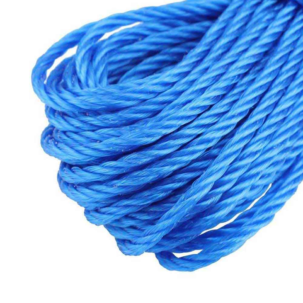 Nylon Rope 10 Meters Long, Blue Color متجر 15 وأقل