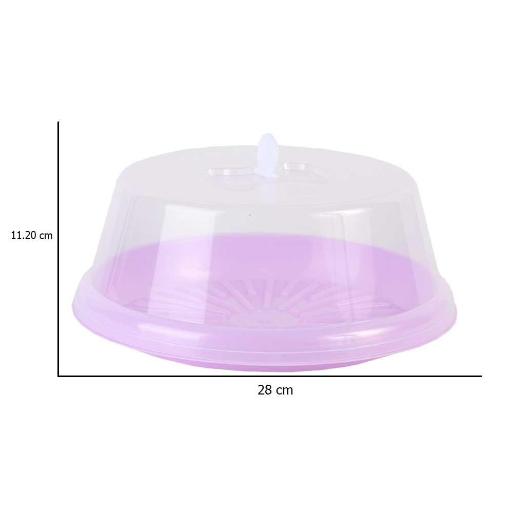 Round purple cake holder متجر 15 وأقل