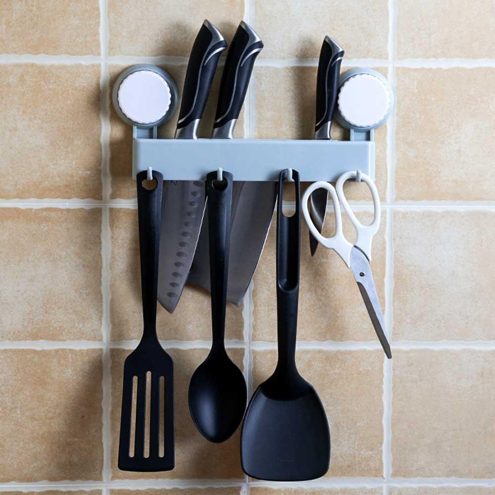 Various kitchen tools holder Blue متجر 15 وأقل