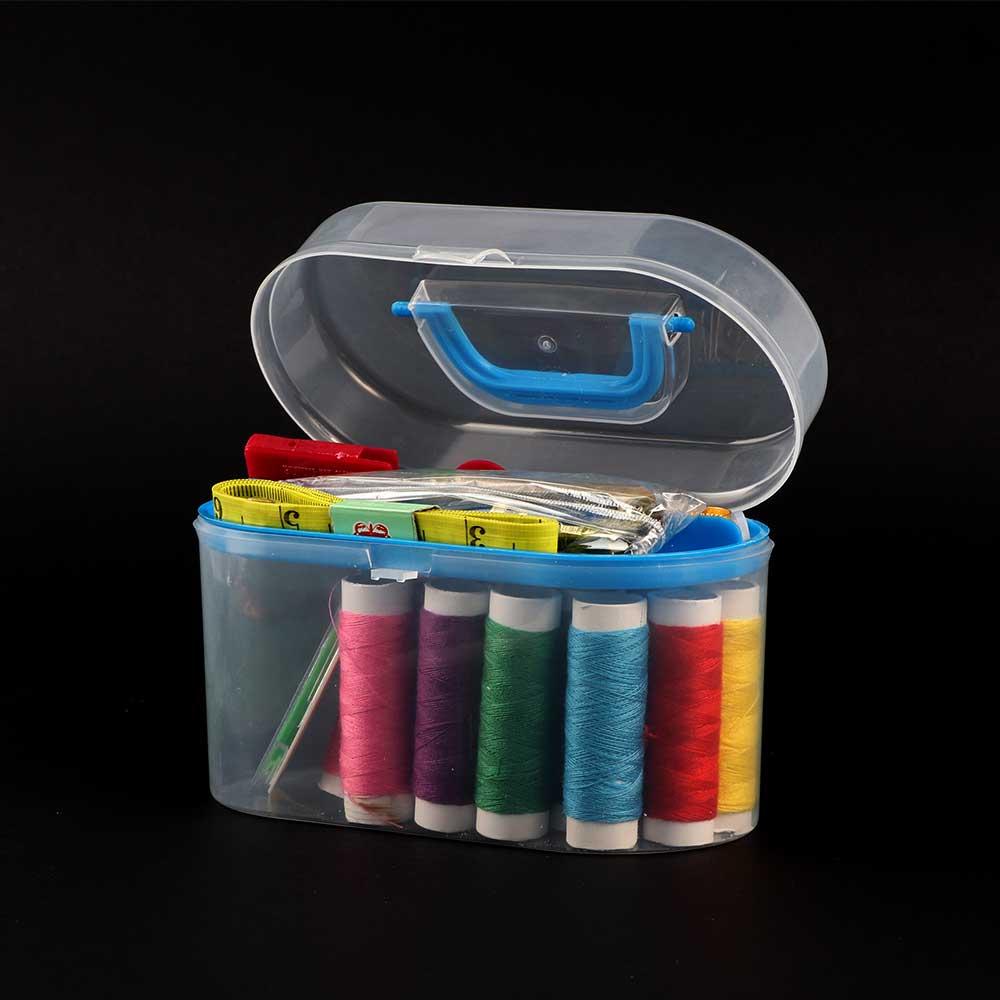 Basic Sewing Tool Box Blue متجر 15 وأقل