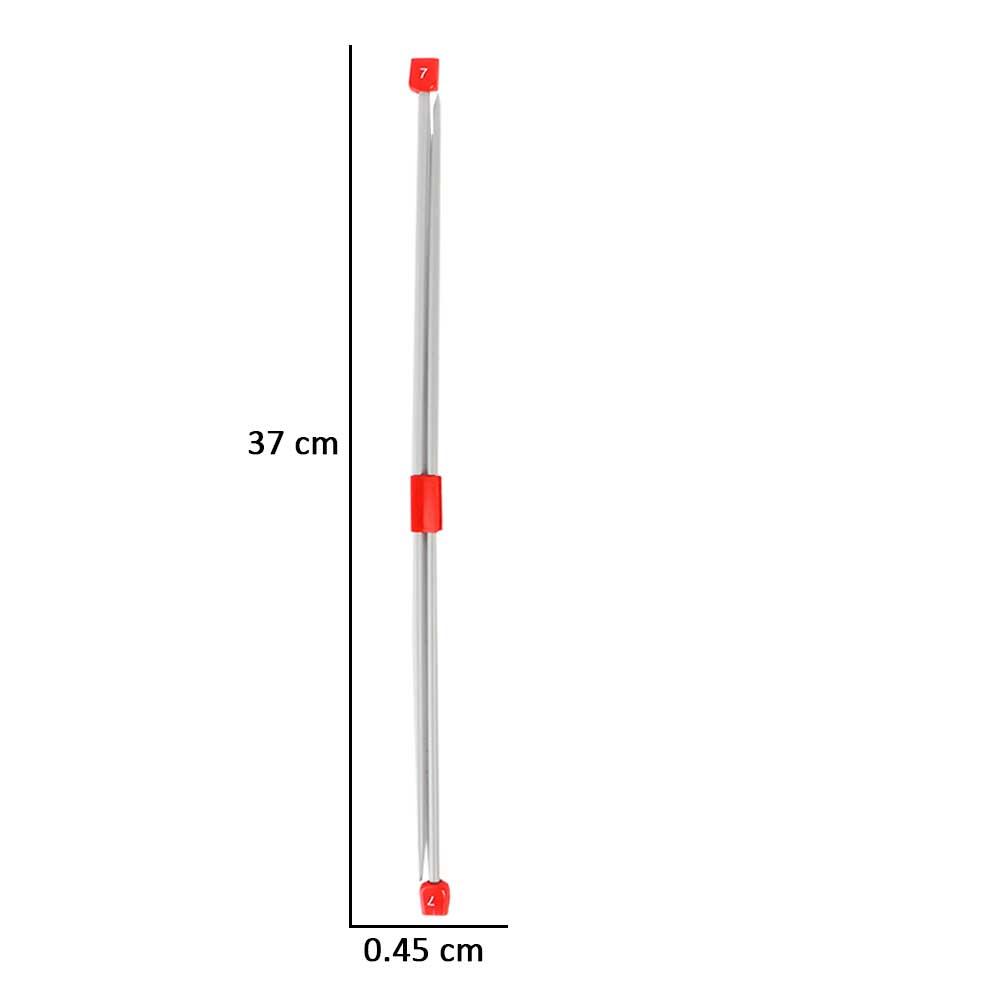 ابرة الصوف - سنارة حياكة مقاس 7 متجر 15 وأقل