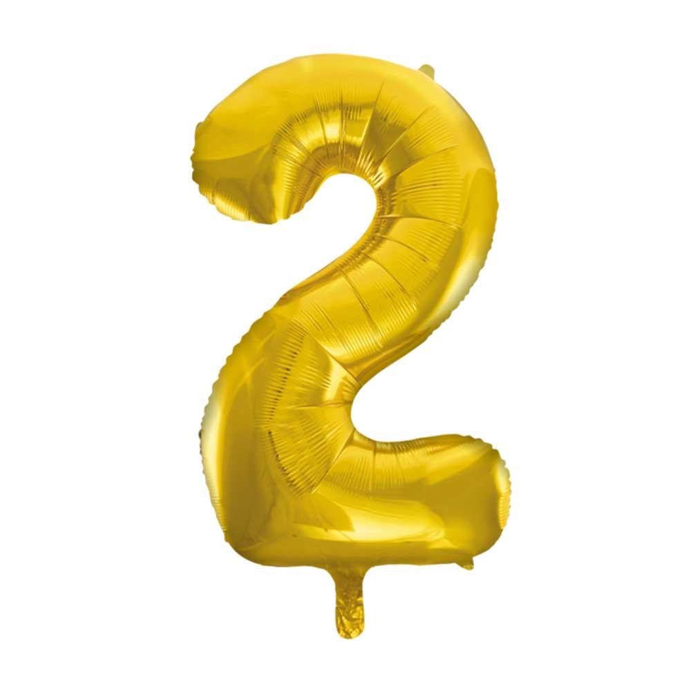 بالون هيليوم ذهبي رقم 2 متجر 15 وأقل