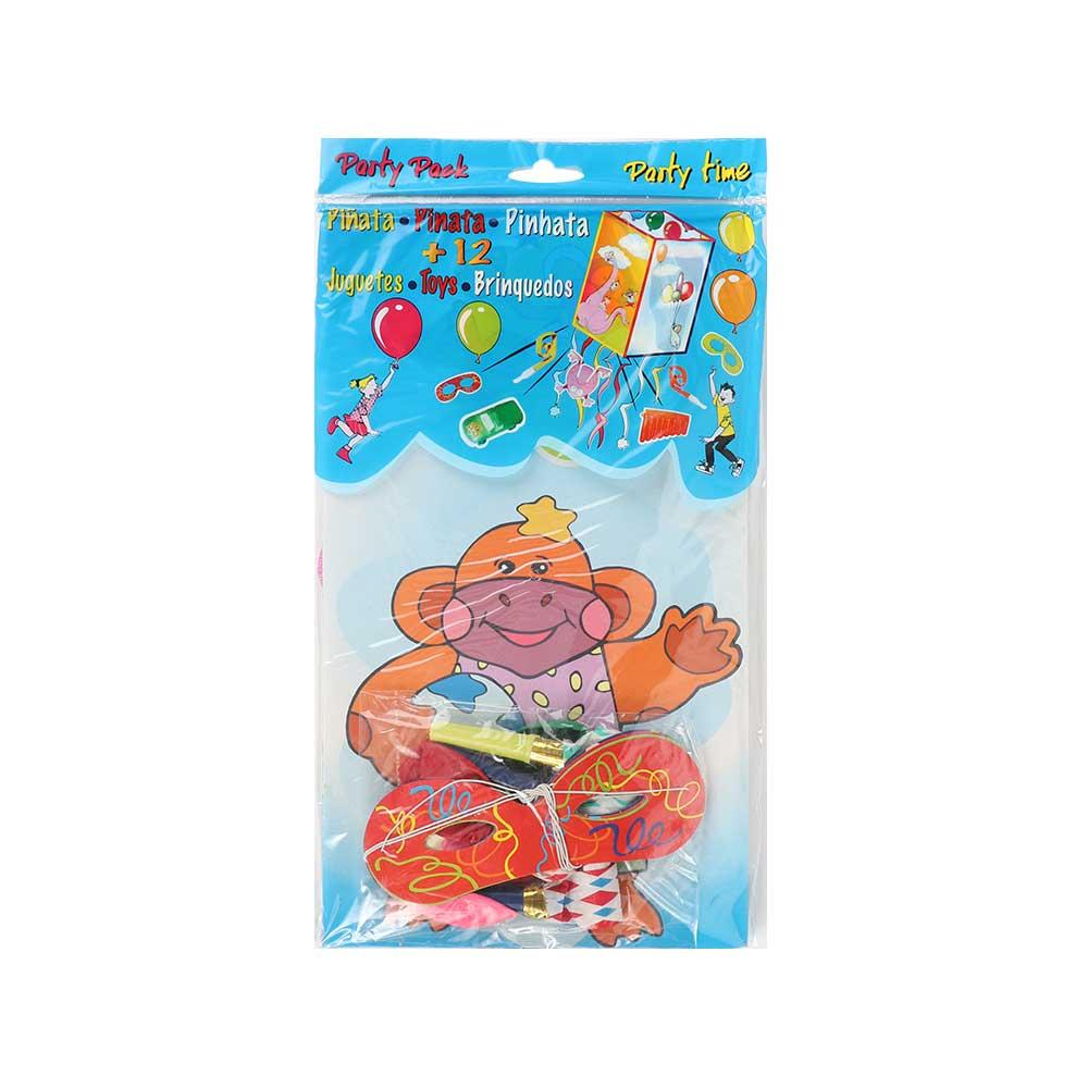 Pinata set 4 pieces - Monkey متجر 15 وأقل