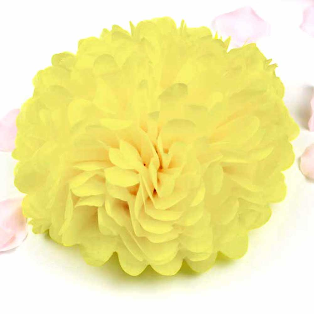 Sphericity Decoration Puff - Hang 2 Pieces Yellow متجر 15 وأقل