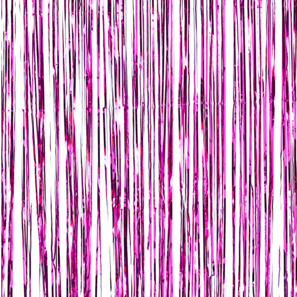 Party Curtain & Hanging Decorations Fuchsia متجر 15 وأقل