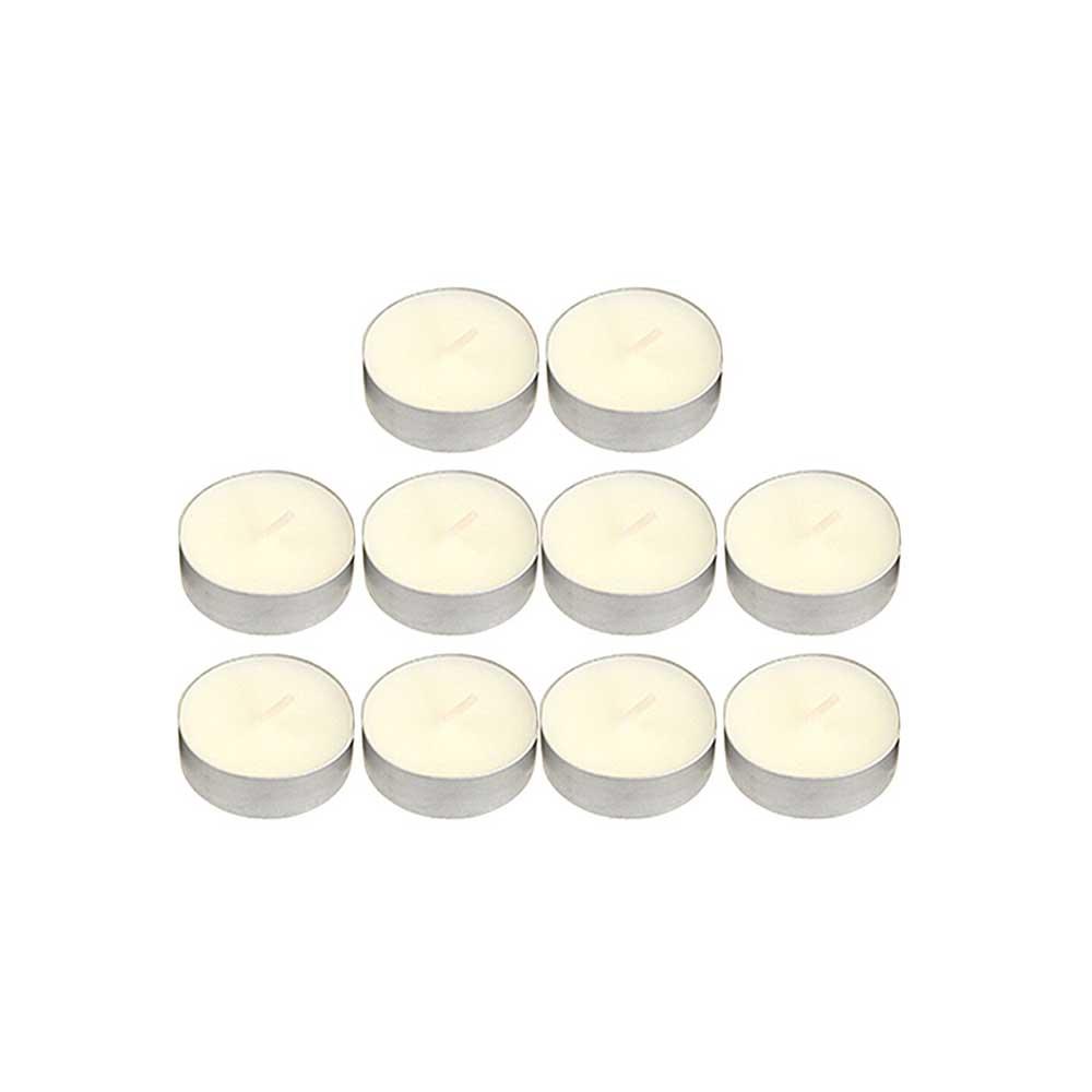 شموع الفواحة ملونة 50 قطعة أبيض متجر 15 وأقل