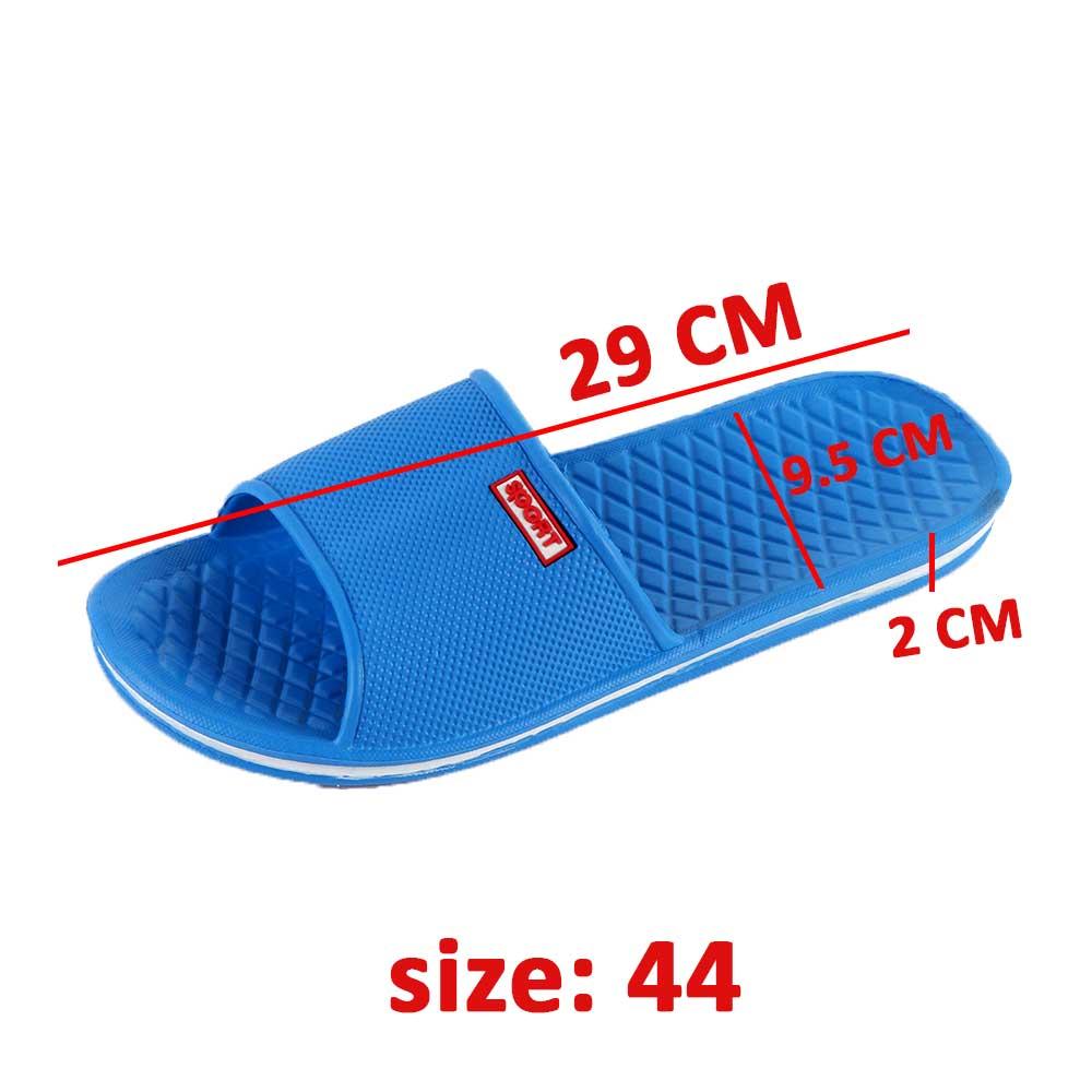 حذاء مطاطي خفيف لون ازرق مقاس 44 متجر 15 وأقل