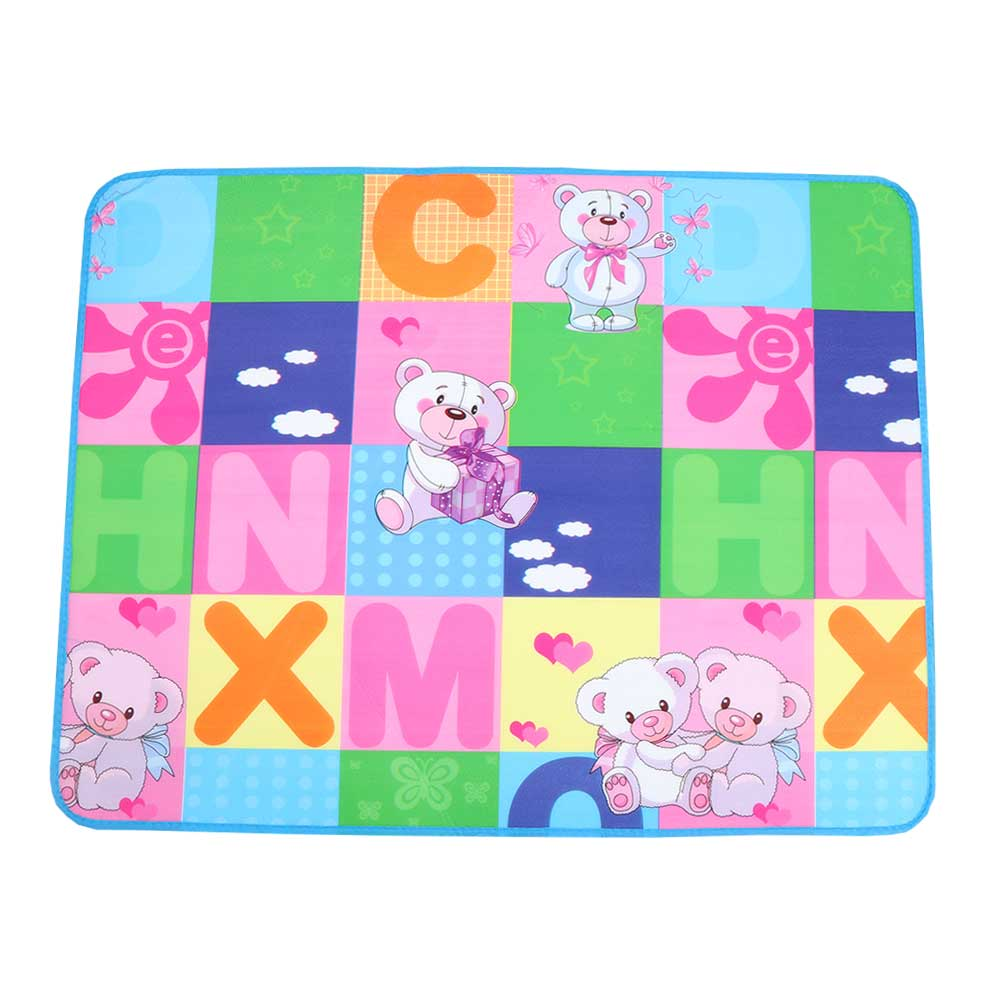 Squishy mattress for children with drawings of letters and teddy bears متجر 15 وأقل