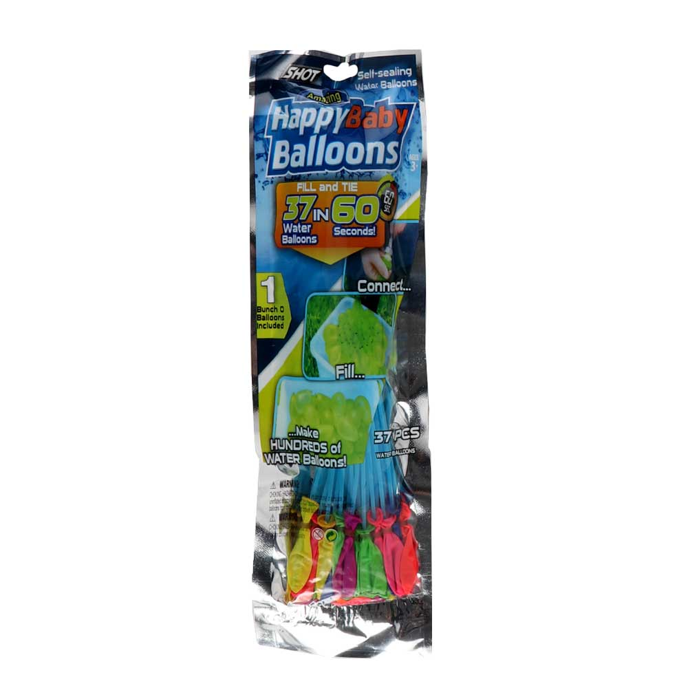 Water balloons in different colors Blue متجر 15 وأقل