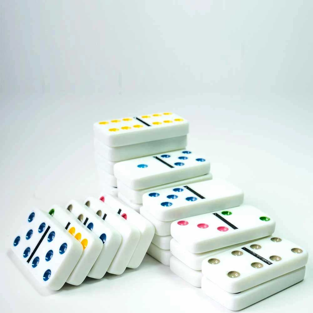 قطع الدومينو - الضومنة (الضامنة) مطورة بالألوان متجر 15 وأقل