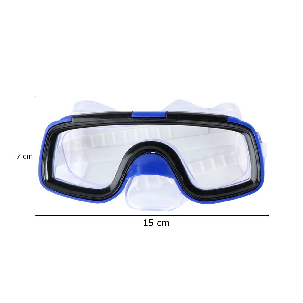 نظارة سباحة و غطس للأطفال أزرق متجر 15 وأقل