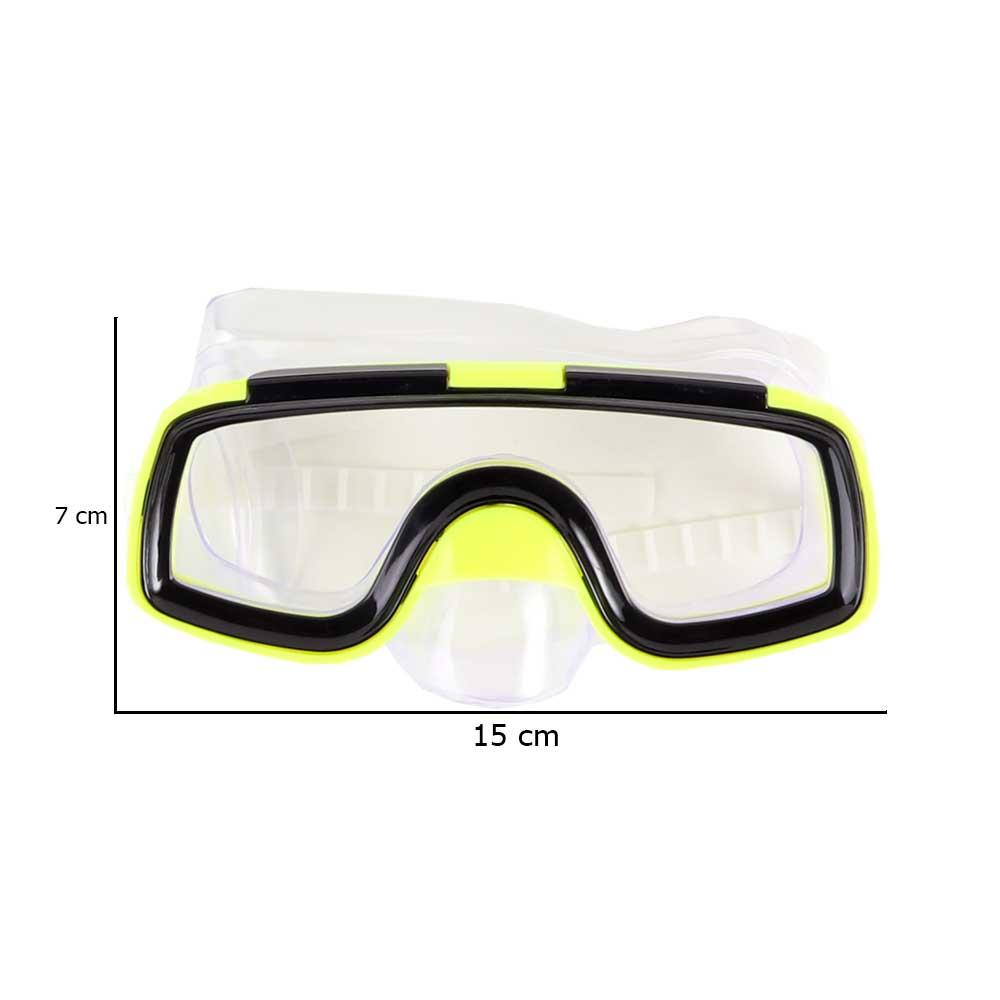 نظارة سباحة و غطس للأطفال أصفر متجر 15 وأقل