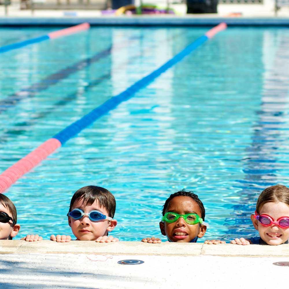 نظارة سباحة للأطفال أصفر متجر 15 وأقل