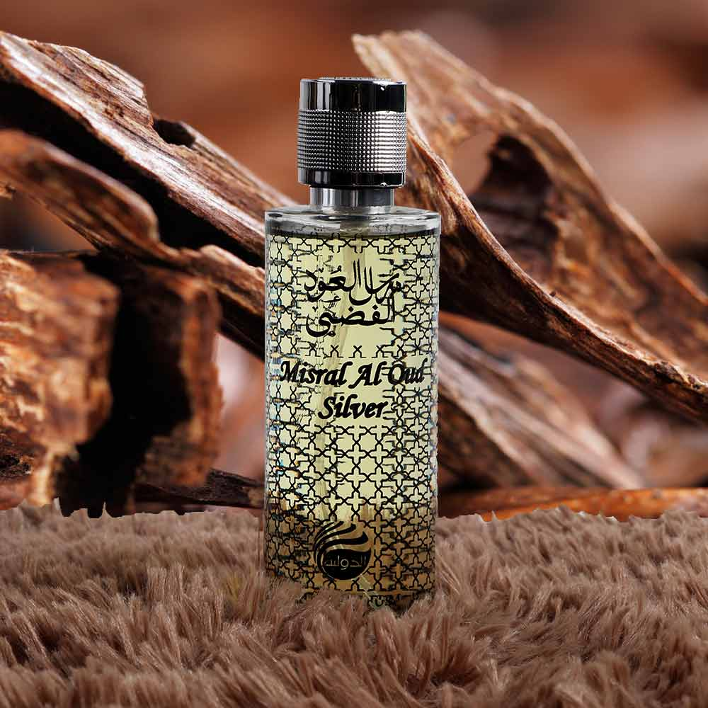 Perfume Mirsal Al Oud - Silver متجر 15 وأقل