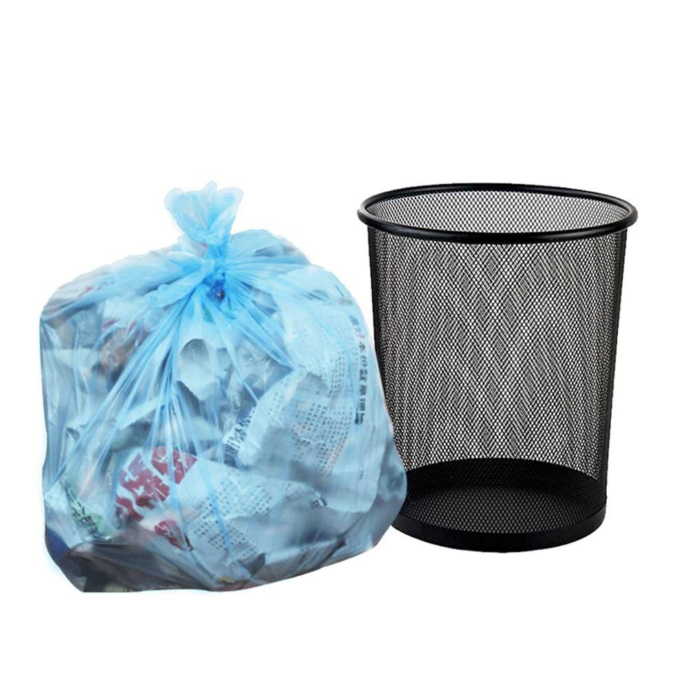 Trash bags 10 gallon 90 bags Blue متجر 15 وأقل