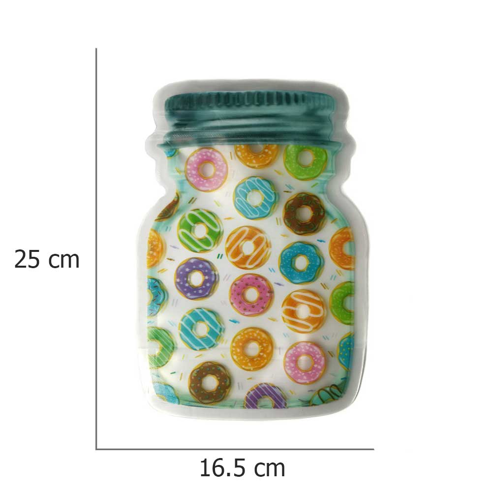 Bags for preserving biscuits and sweets large size 12 bags متجر 15 وأقل