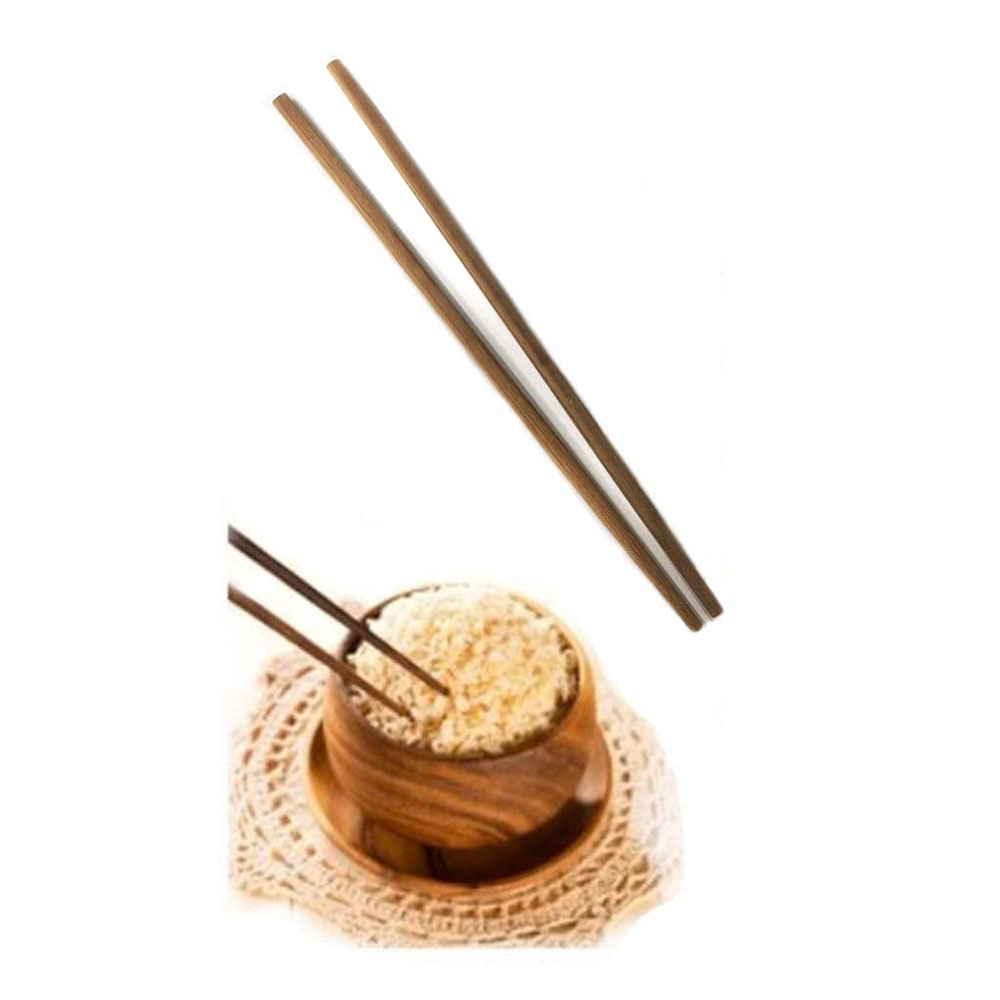 Chinese Chopsticks Plain in Light Brown Set for One Person متجر 15 وأقل