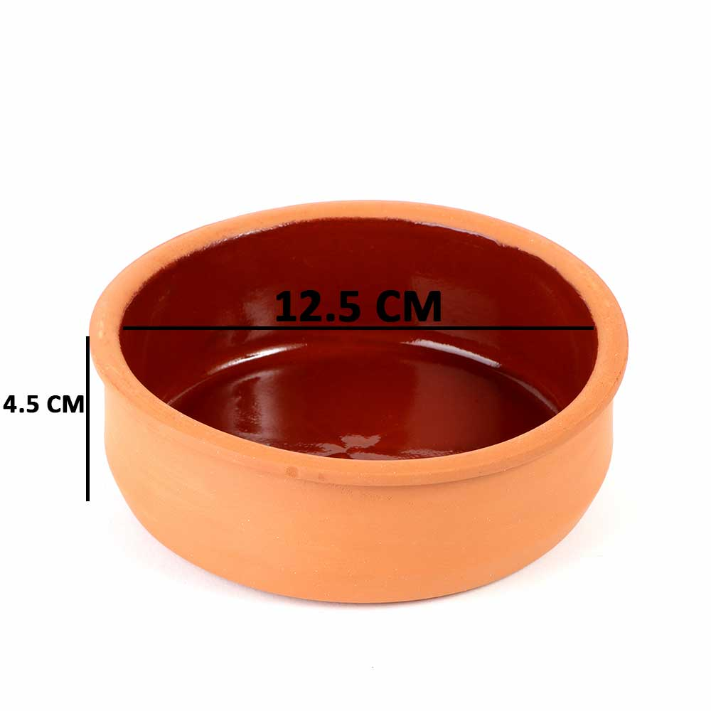 Pottery Tray 12cm for Hot & Cold Cooking 1PC متجر 15 وأقل