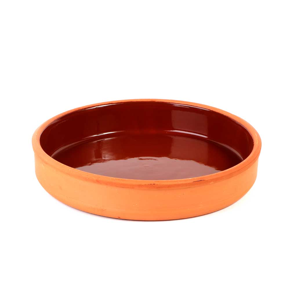 Pottery Tray 21cm for Hot & Cold Cooking 1PC متجر 15 وأقل