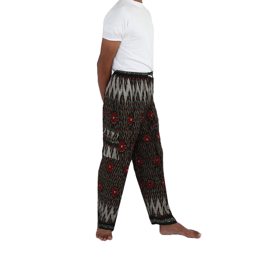 Loose Pants (Saroon / Foota) size 30 - 36 in Green Color متجر 15 وأقل