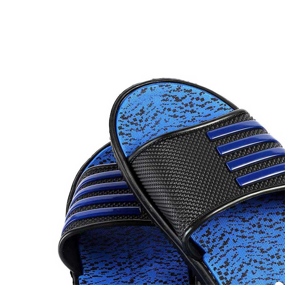 حذاء إسفنجي مطاطي خفيف لون أزرق أسود مقاس 40 متجر 15 وأقل