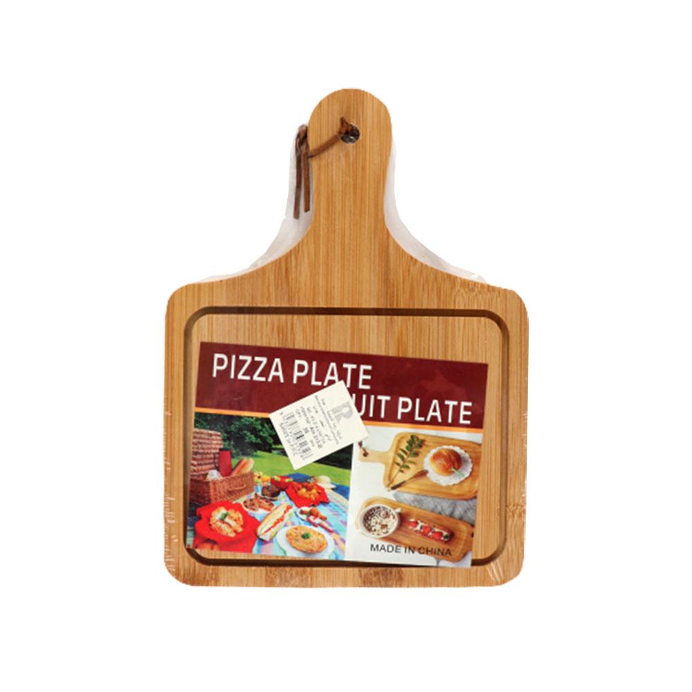 طبق خشبي لتقديم الطعام والمقبلات مربع متوسط الحجم لون بيج متجر 15 وأقل