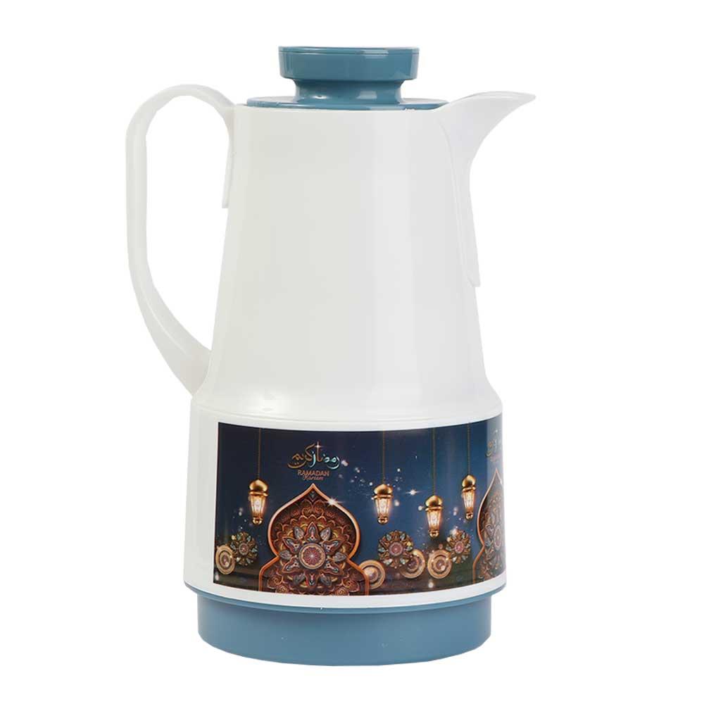 Ramadan Dallah Coffee and Tea 1 liter - blue متجر 15 وأقل