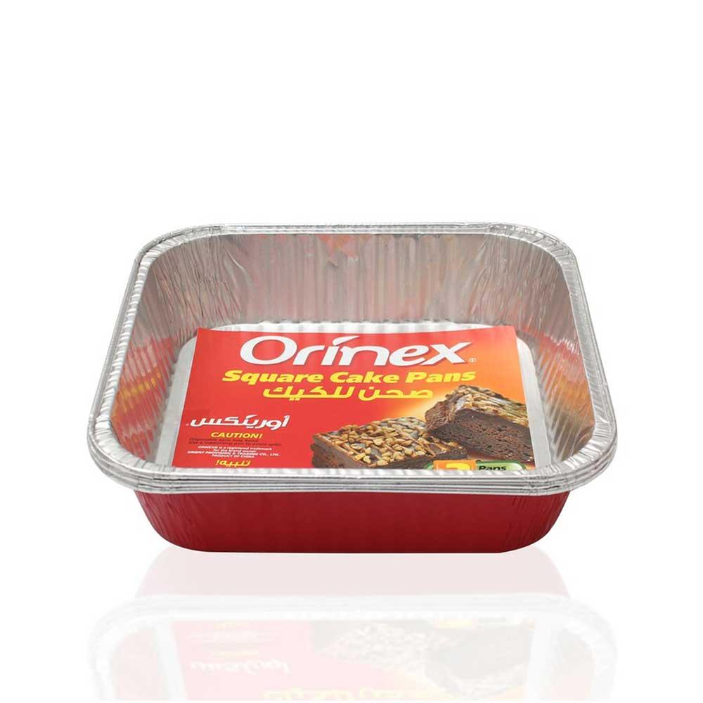صينية الكيك المربع اورنيكس عدد 3 صحون متجر 15 وأقل