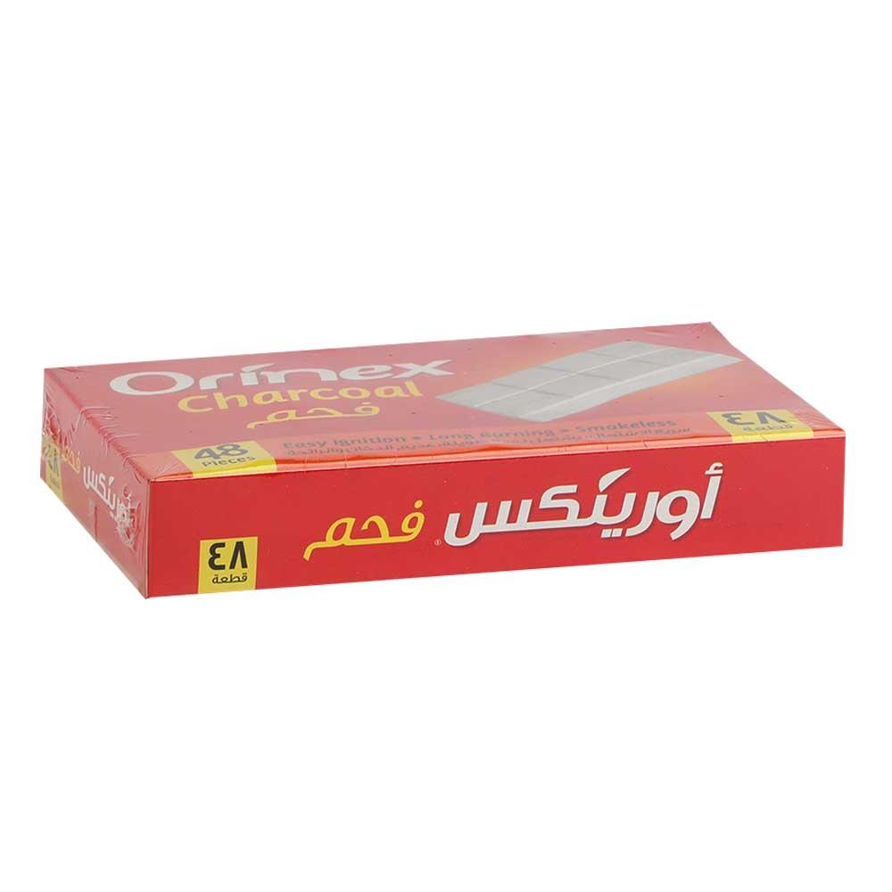 Orinex charcoal fast flammability 48 pieces متجر 15 وأقل
