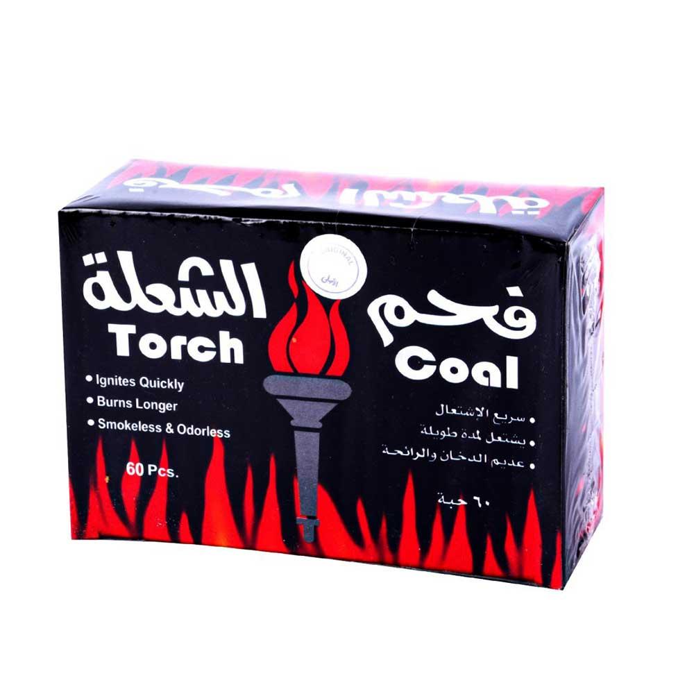 فحم الشعلة سريع الاشتعال 60 قطعة متجر 15 وأقل
