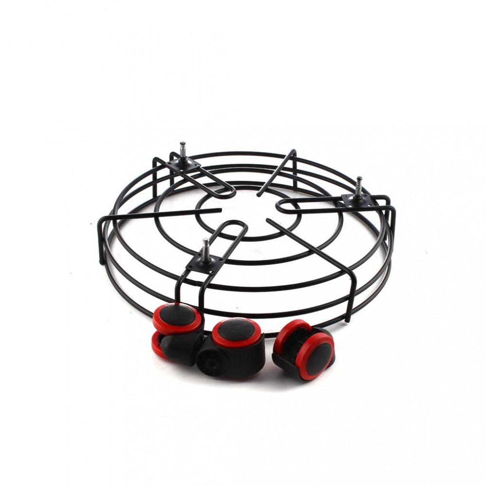 Metal tube base with wheels متجر 15 وأقل