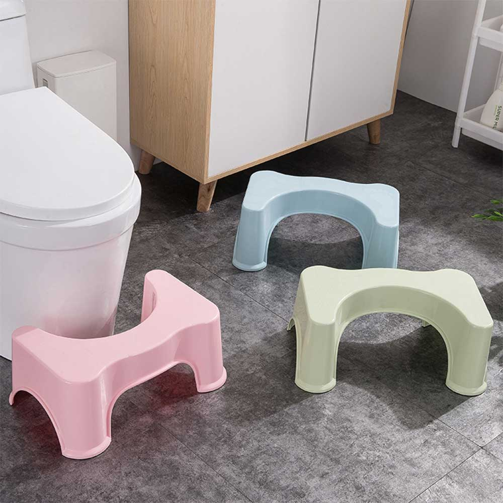 Toilet seat base for sanitary session - color pink متجر 15 وأقل