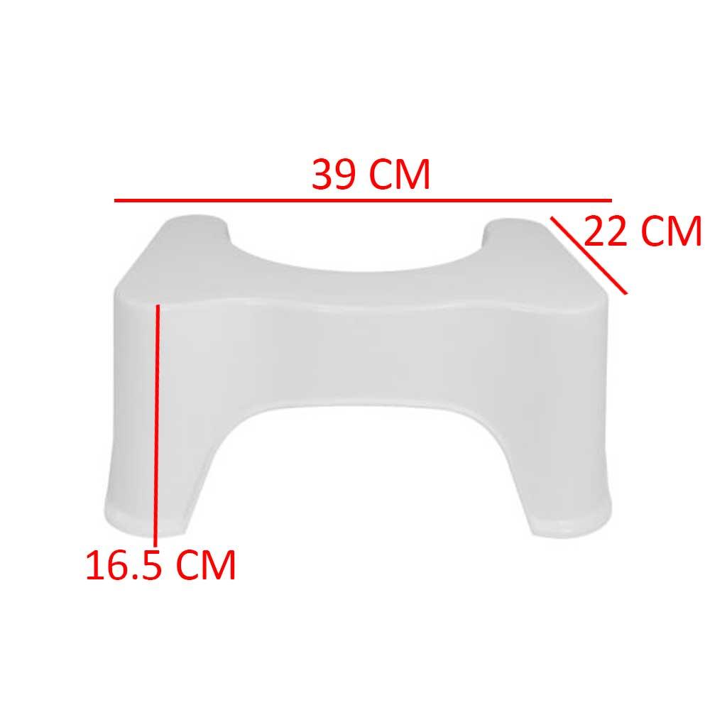 Toilet seat base for sanitary session - color white متجر 15 وأقل