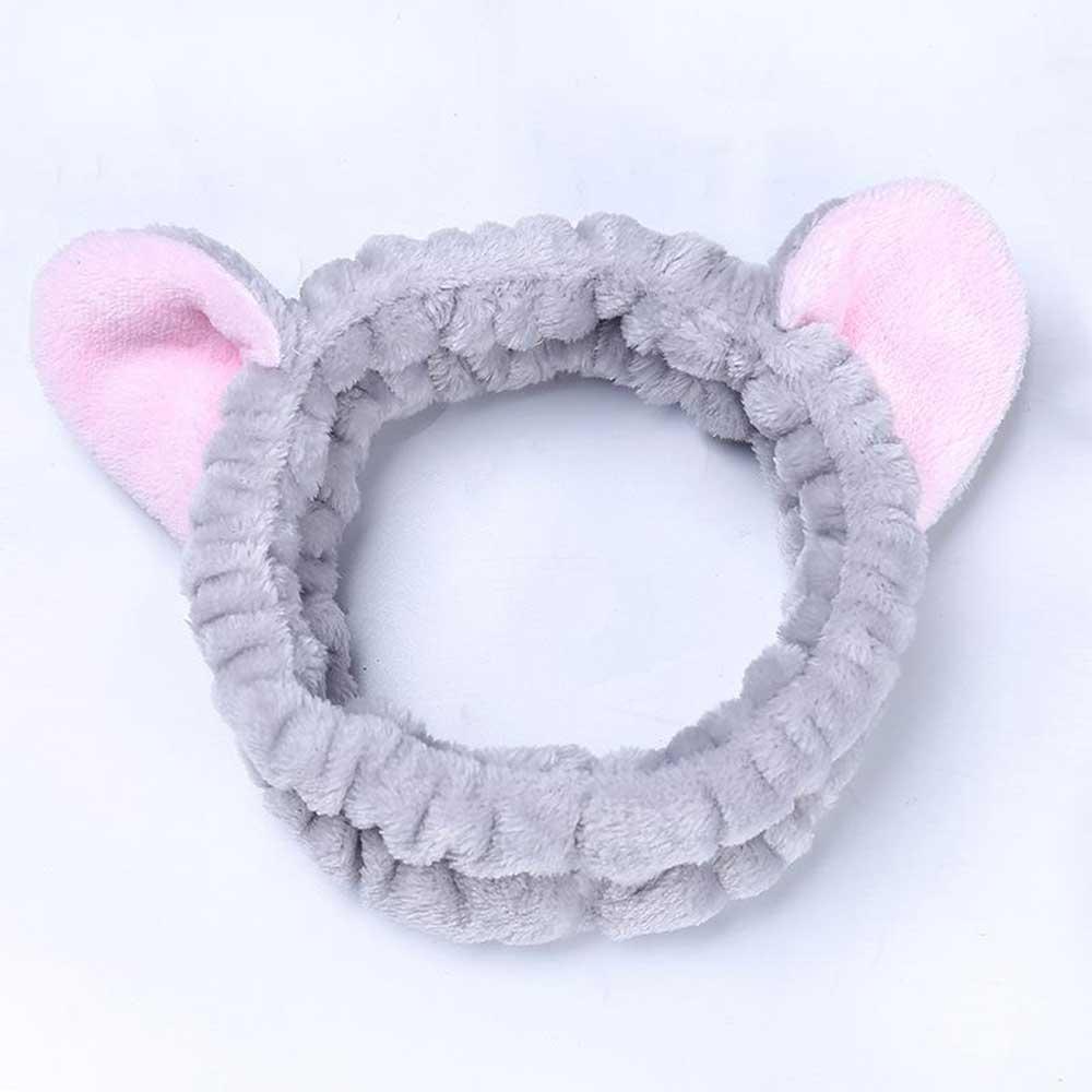 Headband With Cat Ears Design - Color Gray متجر 15 وأقل