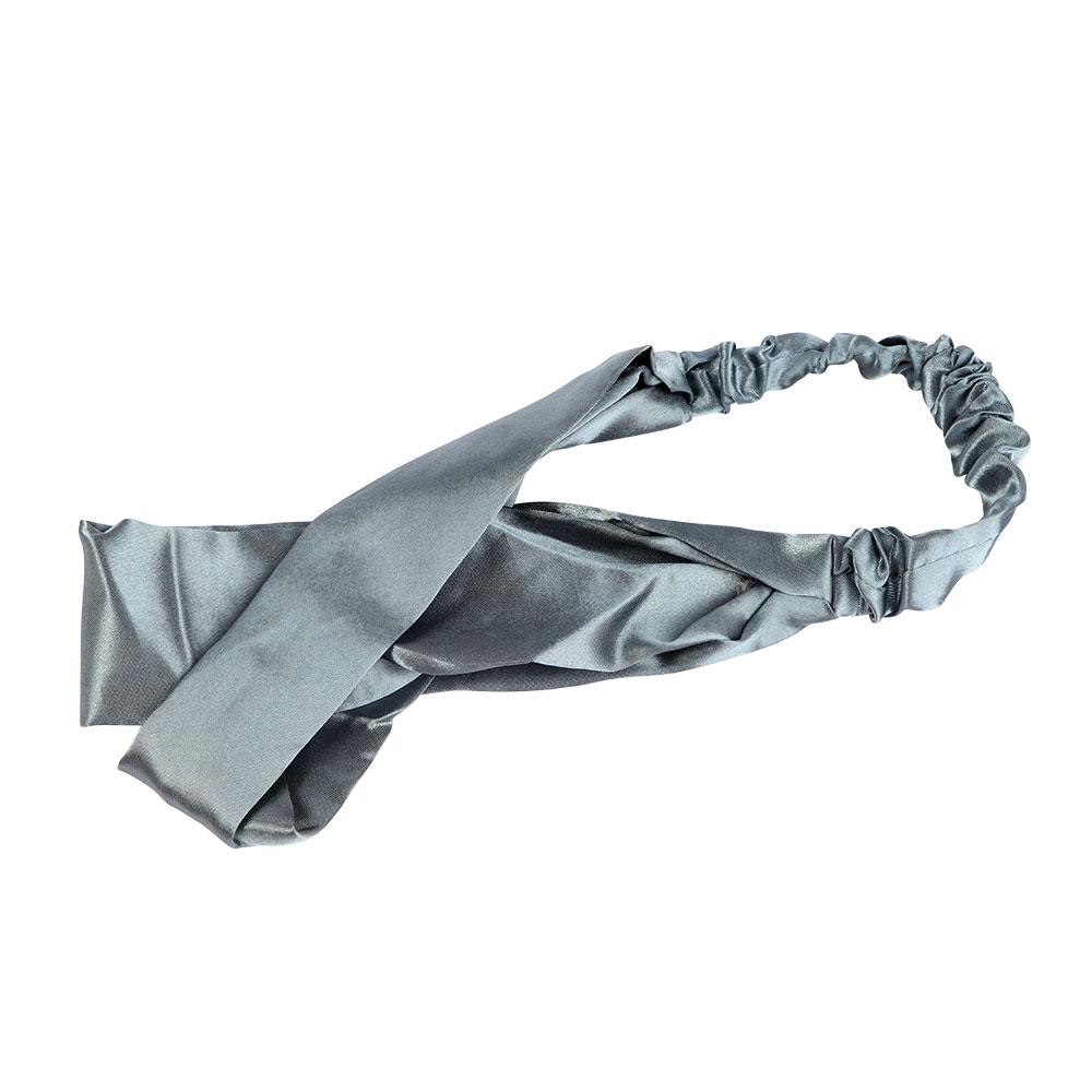 Satin Headband - Color Blue متجر 15 وأقل
