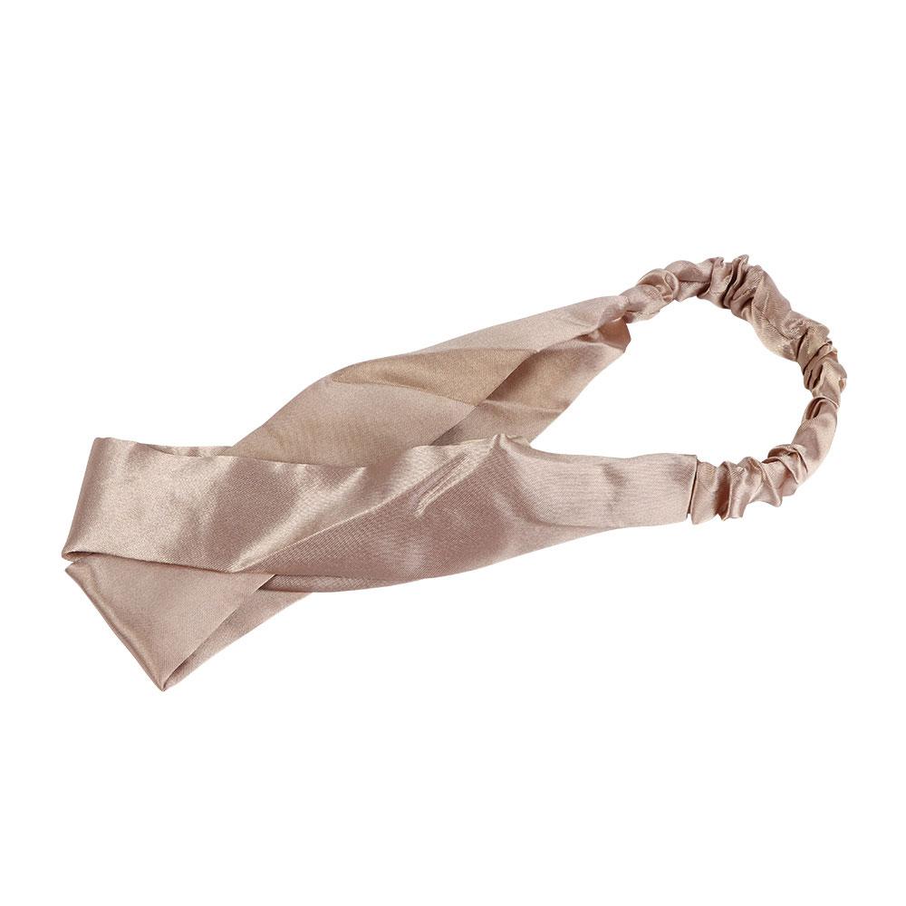 Satin Headband - Color Beige متجر 15 وأقل