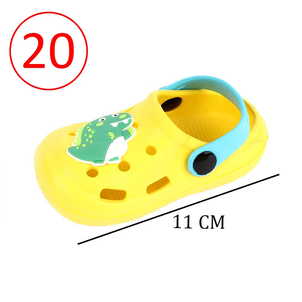 Kids Slippers Size 20 Color Yellow متجر 15 وأقل