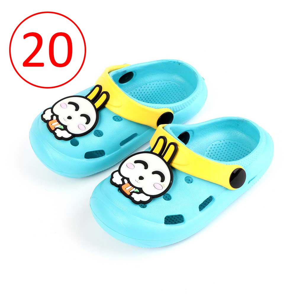 Kids Slippers Size 20 Color Baby Blue متجر 15 وأقل