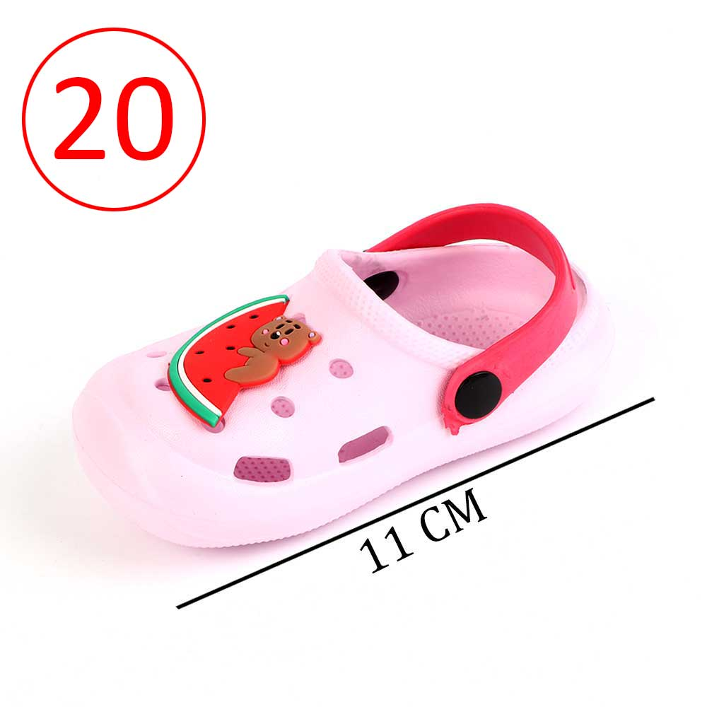 Kids Slippers Size 20 Color Light Pink متجر 15 وأقل