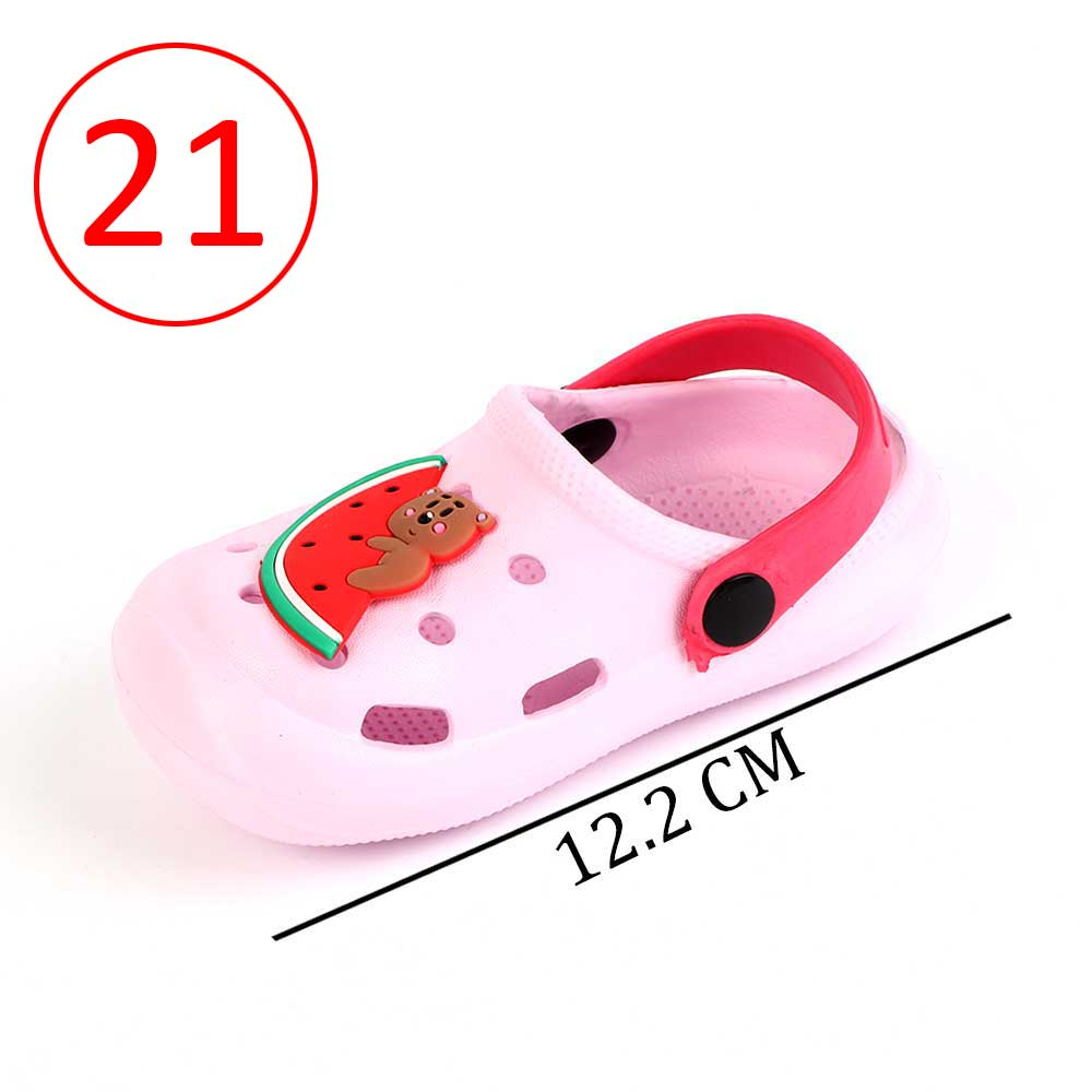 Kids Slippers Size 21 Color Light Pink متجر 15 وأقل