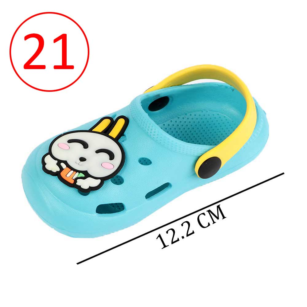 Kids Slippers Size 21 Color Baby Blue متجر 15 وأقل