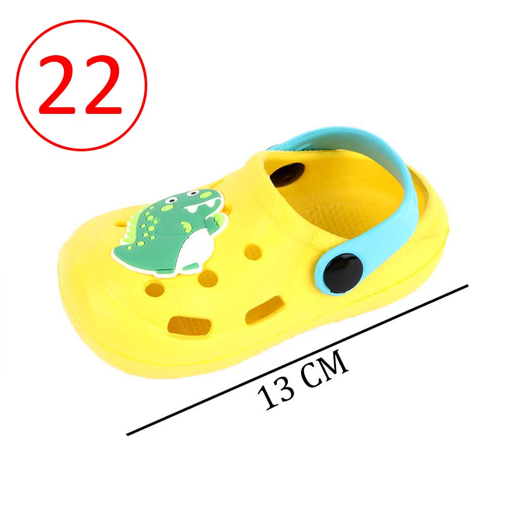Kids Slippers Size 22 Color Yellow متجر 15 وأقل