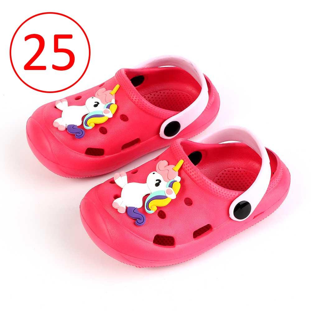 حذاء كروكس للأطفال مقاس 25 لون وردي متجر 15 وأقل