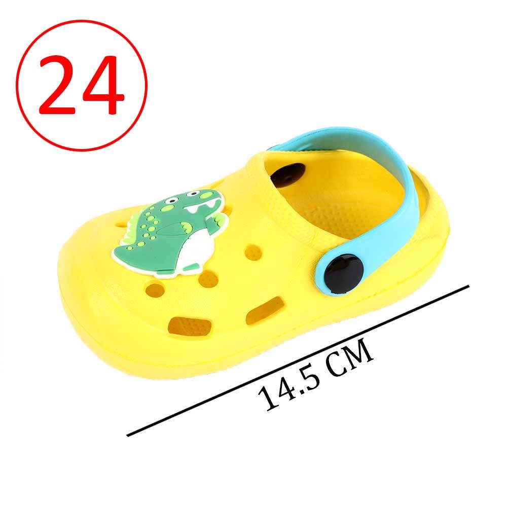 حذاء كروكس للأطفال مقاس 24 لون أصفر متجر 15 وأقل