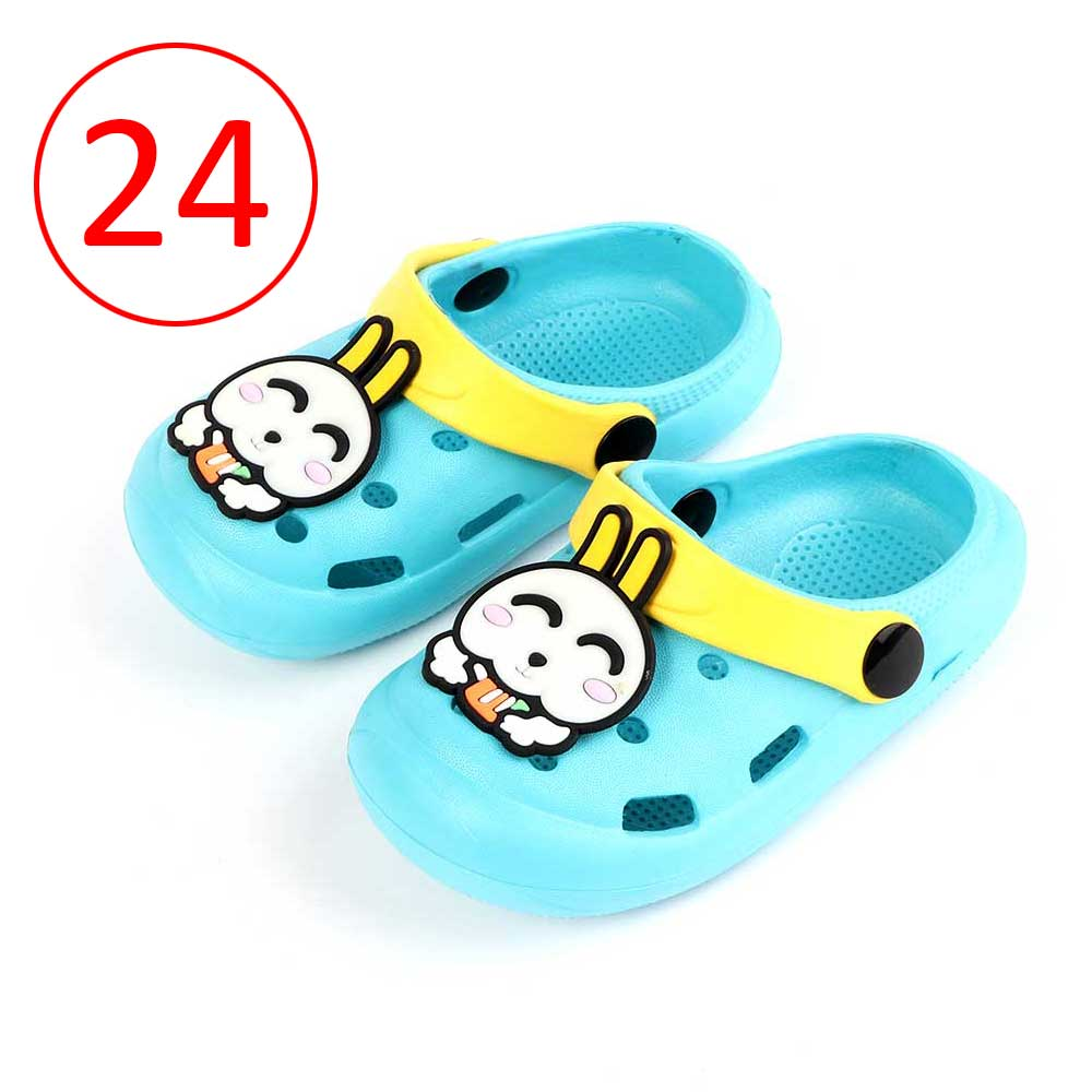 Kids Slippers Size 24 Color Baby Blue متجر 15 وأقل