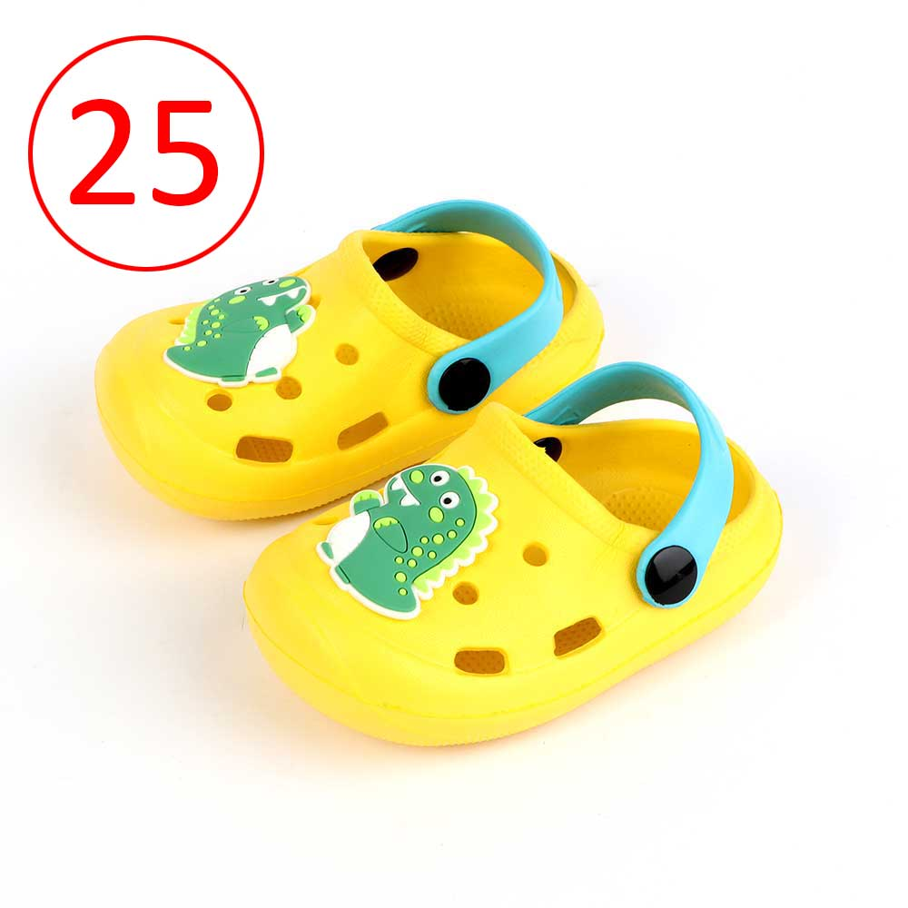 Kids Slippers Size 25 Color Yellow متجر 15 وأقل